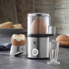 福騰寶(WMF)  WMF 福騰寶 KüCHENminis 系列 1 位式煮蛋器 帶蛋杯 Cromargan 啞光材質 節省空間 可調節硬度 56 W