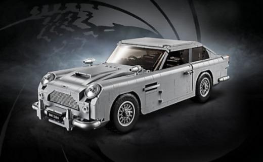 乐高又出新玩具:007同款座驾,这还原度真神了