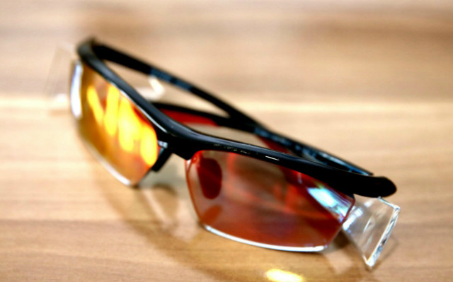 不被近視羈絆奔跑的腳步,高特近視定制一體運動眼鏡評測