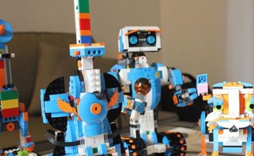 乐高Boost机器人:让孩子的积木好玩10倍