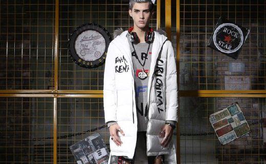 Genanx羽絨服:白鴨絨填充增強保暖,時尚設計潮范十足