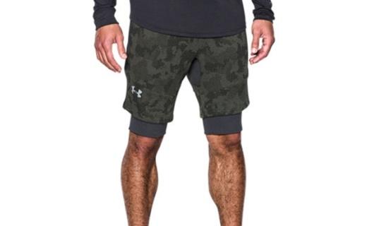 安德玛运动短裤 :宽松舒适版型,导汗排湿不闷热