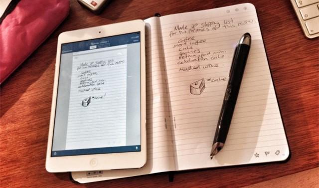 如果你喜欢用纸又离不开iPad,用这支智能笔就对了-Livescribe 3 智能笔