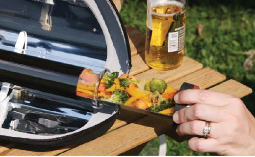 多功能便携太阳能锅具,随时随地做出美味!