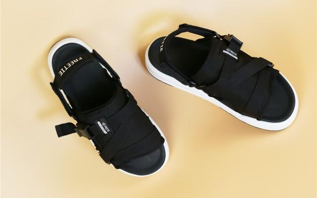 「超逸酷玩」FREETIE 云彈兩穿休閑涼鞋半年度過這個夏季