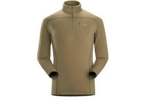 始祖鳥軍版抓絨衣:強效保暖,做工精良!