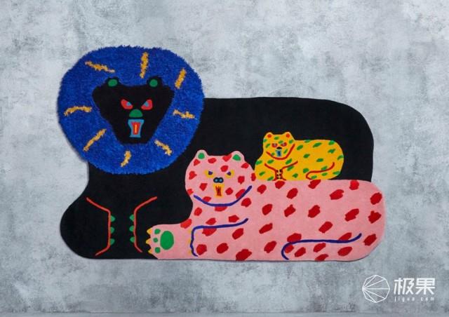 2019宜家艺术节限定地毯!八位设计师作品随意挑,售价1499元起