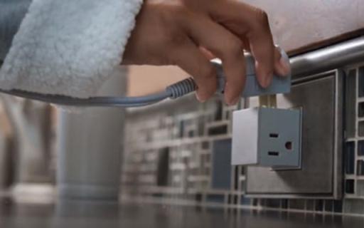隐藏式插座,让好奇宝宝们永远没有触电危险