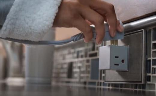 隱藏式插座,讓好奇寶寶們永遠沒有觸電危險