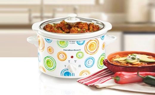 Hamilton Beach電燉鍋:優質白陶瓷內膽,低壓燉煮保留食物營養