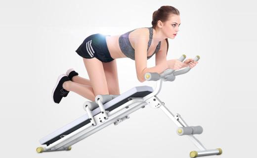 艾雷斯仰臥起坐板:雙重瘦腰功能加倍,健腹瘦身新玩法