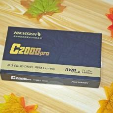 509元的海康威視 新C2000Pro 512G 性價比真高