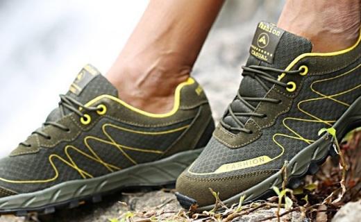 Dzrzvd户外徒步鞋:耐磨防滑超透气,双脚时刻干爽
