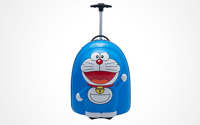 凡米粒哆啦A梦立体儿童行李箱