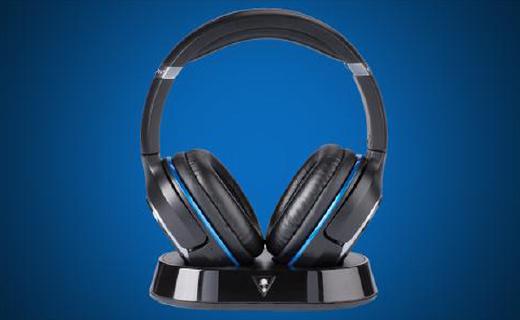 Turtle Beach Elite 800游戲耳機:DTS7.1環繞立體聲,10小時續航