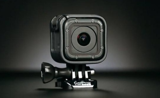 GoPro HERO Session 運動攝像機:4K60幀高清拍攝,裸機10米防水