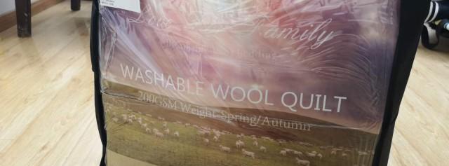 可瑞乐羊毛被——来自新西兰的温暖