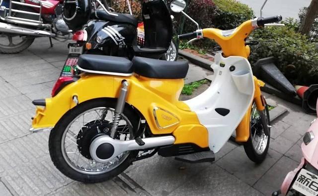 森蓝新能源摩托车B1蓝调