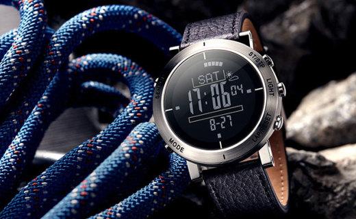 Ten Thirty户外手表:功能强大乐享户外,按键紧密不易进灰