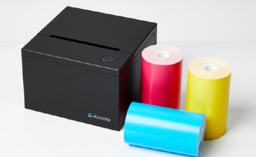 """做一个精致的""""便利贴""""人儿,不如了解一下Cubinote打印机"""