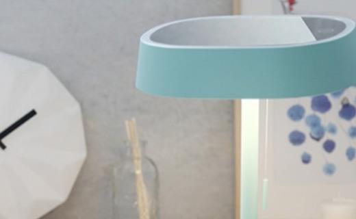 京造LED化妆镜台灯:影棚级专业光效,组合式收纳一物多用