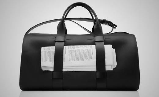 純手工制造的戶外旅行包,設計貼心顏值超高