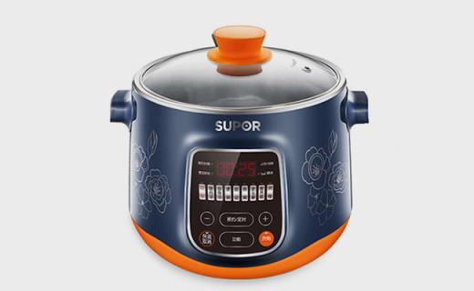 蘇泊爾DZ22YC816電燉鍋:多火力調節,食用級不銹鋼內膽
