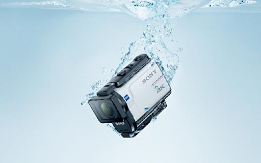 索尼首款光学防抖运动相机,4K拍摄3倍变焦