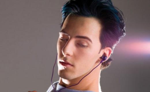 杰伟世FR100X入耳耳机:大单元清晰人声,亮丽配色时尚潮爆