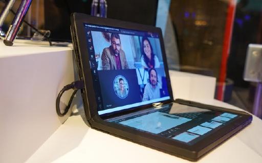 「CES 2020」全球首款!聯想折疊屏幕電腦,重量不到1千克