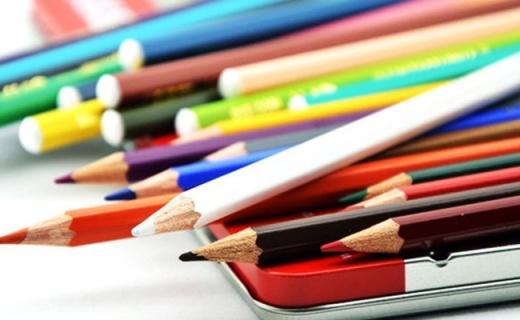 思筆樂水溶性彩鉛:超細筆尖著色力強,色彩明亮不易折斷