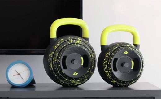 僅巴掌大的模塊化啞鈴,多重量可調全身都能練