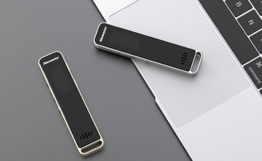 紐曼RV51 mini錄音筆:智能聲控無損音質,八核專業高清降噪