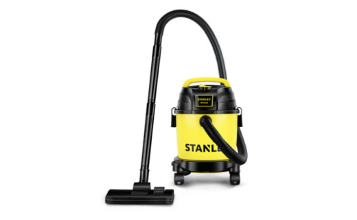 史丹利SL19135P 桶式吸尘器:超静音小型强力吸尘器,深层除螨