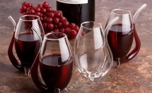 Final touch酒杯四件套:弧形新穎造型,逼格滿滿可醒紅酒