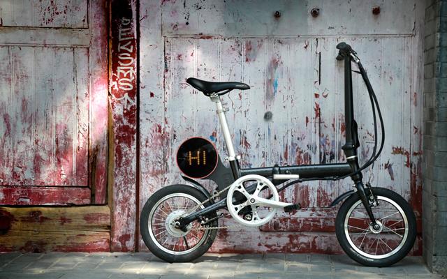 骑达R4折叠助力自行车