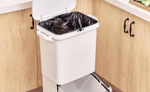 「新東西」小米上架雙層分類垃圾桶,售價179元