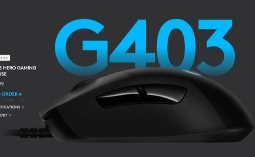 「新東西」配備HERO 16K傳感器,羅技升級旗下 G403、G703 和 G903 三款鼠標