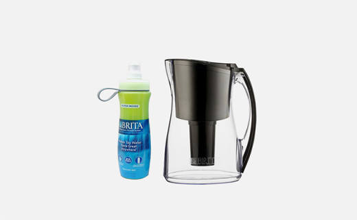 碧然德滤水壶套装:高密度微孔过滤,每一口水都纯净健康