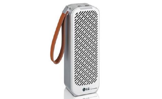 「新東西」LG推出便攜式空氣凈化器:搭載PM 1.0傳感器,可續航8小時