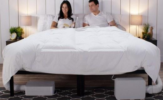 可以調節床溫的床上用品,從此不再只有電熱毯