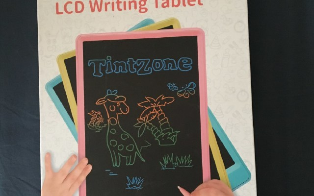 TintZone繪特美T2兒童彩色液晶手寫板試用報告