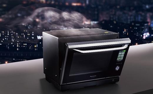 把水變成油的松下黑科技烤箱,煎烤蒸炸全能!