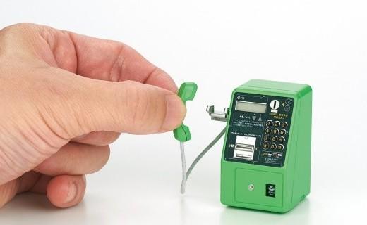 「新東西」時光扭蛋:日本Takara Tomy公司推出公用電話系列模型