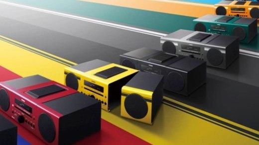 雅马哈MCR-B043家庭音箱:3D环绕声回音壁,无线低音炮