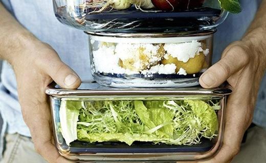 福騰寶Top Serve系列保鮮盒:三只裝高品質,上班帶飯不串味