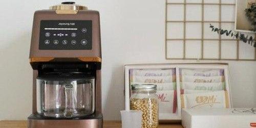 九陽無人豆漿機,可實現高效研磨和全自動清洗
