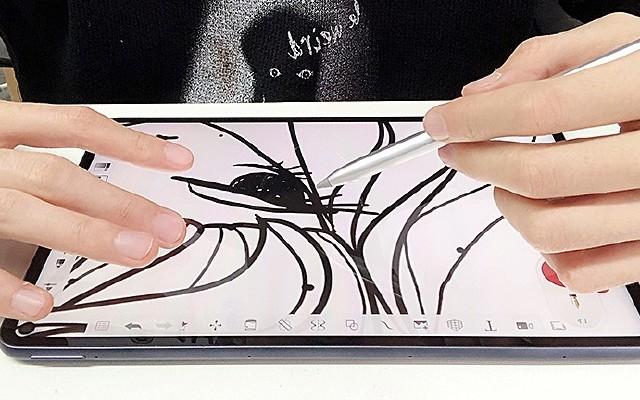 色彩准确,感知细腻!用华为MatePad Pro绘出潮流插画!