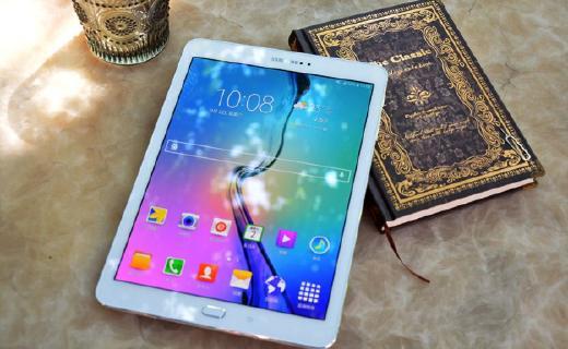 三星Galaxy Tab S2平板电脑:支持4G网络,8寸大屏影音办公方便