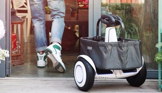 米家发布九号平衡车Plus载物筐,解放双手靠它了!